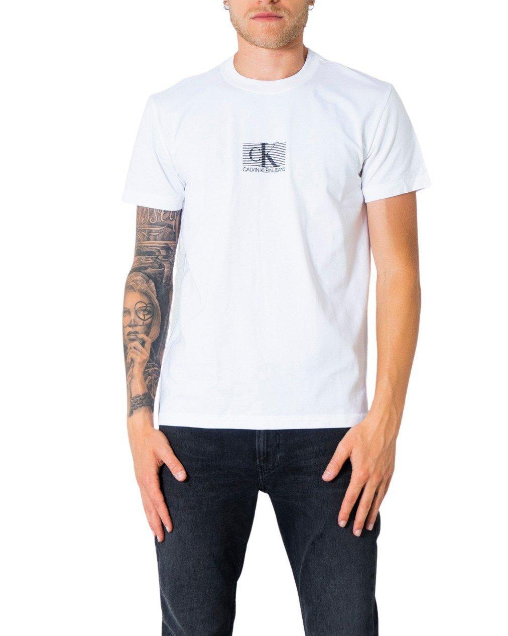 Calvin Klein Jeans Men's T-Shirt Various Colours 304935 - white XS