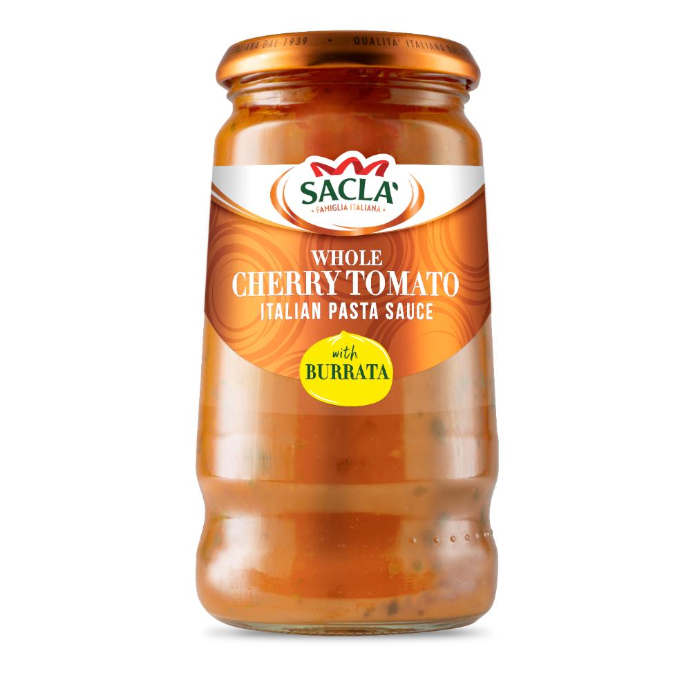 Sacla' Whole Cherry Tomato with Burrata 350g