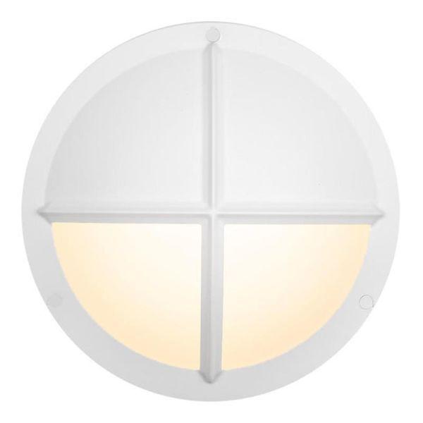 Hide-a-Lite Moon Public Cross II Seinävalaisin 3000/4000K, 16W, IP65, IK10 valkoinen, 730 lm