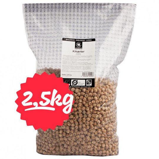 Eko Kikärtor 2,5kg - 30% rabatt