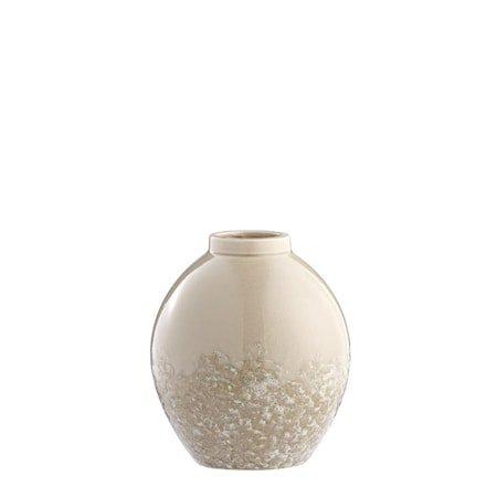 Vase Clary 21cm Beige