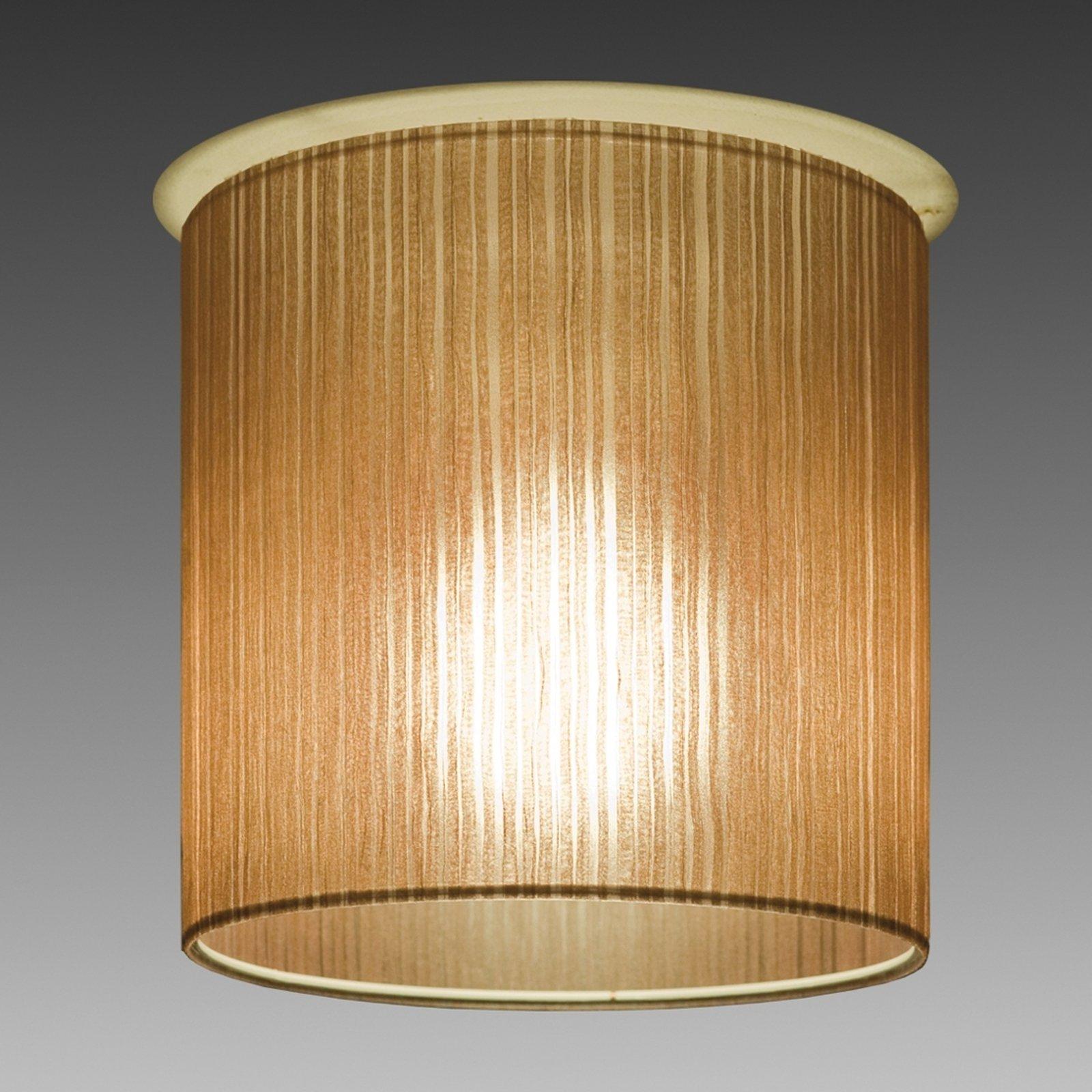 Brun Ganzo taklampe Ø 20 cm
