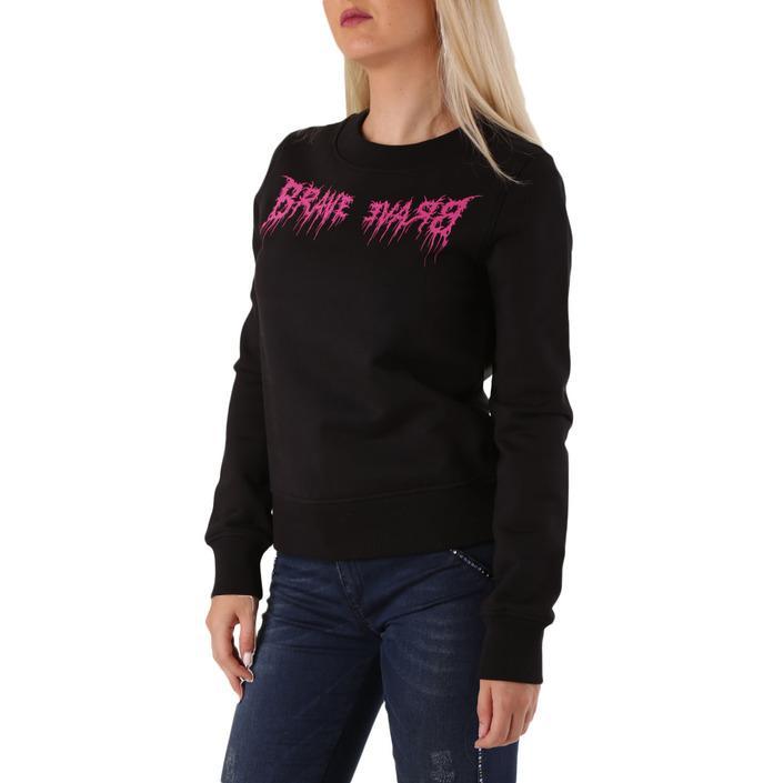 Diesel Women's Sweatshirt Black 312640 - black S