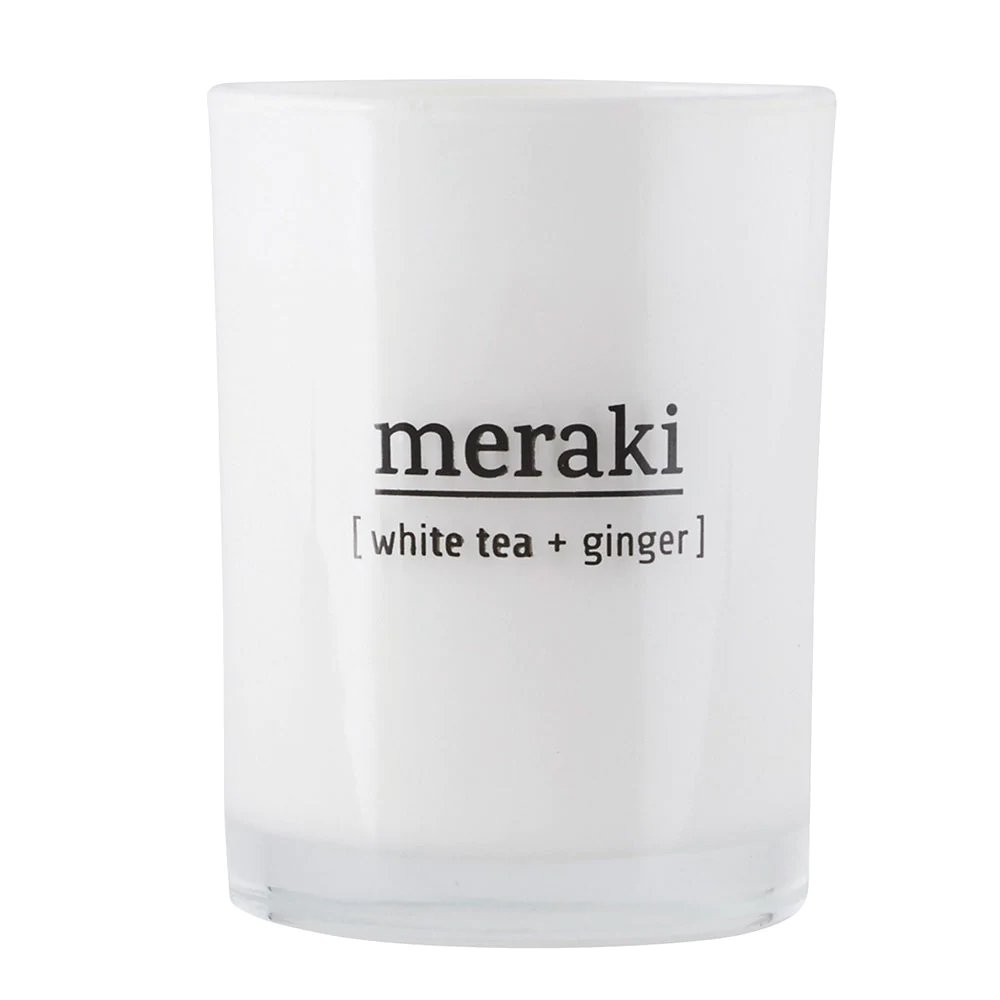 Meraki Duftlys med White Tea & Ginger