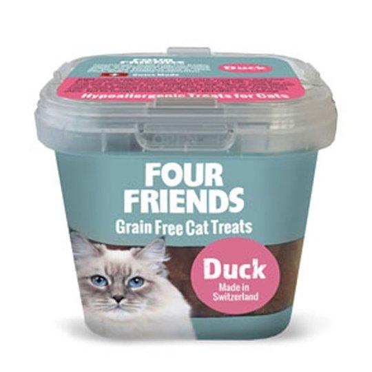 FourFriends Cat Treats Duck 100 g