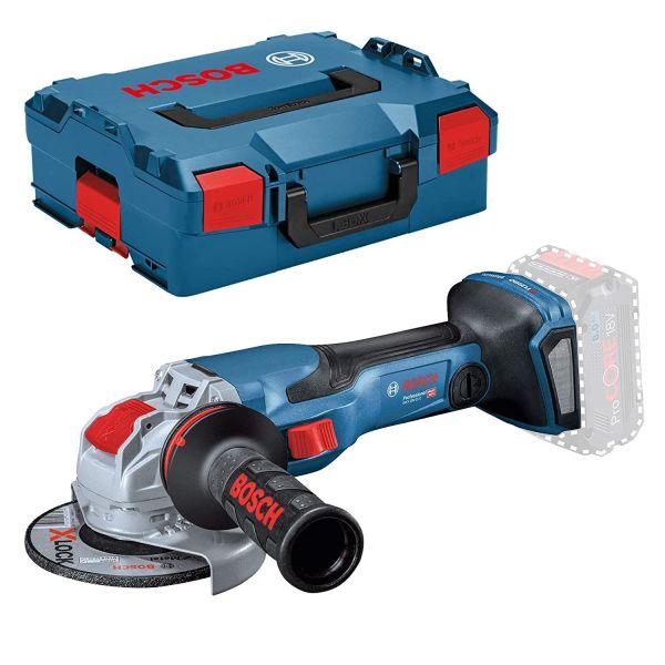 Bosch GWX 18V-15 C Vinkelsliper uten batteri og lader, i L-BOXX