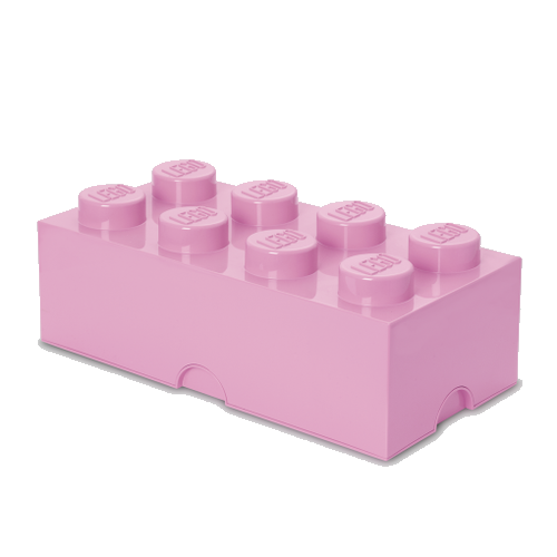 Room Copenhagen - LEGO Storeage Brick 8 - Light Purple (40041738)