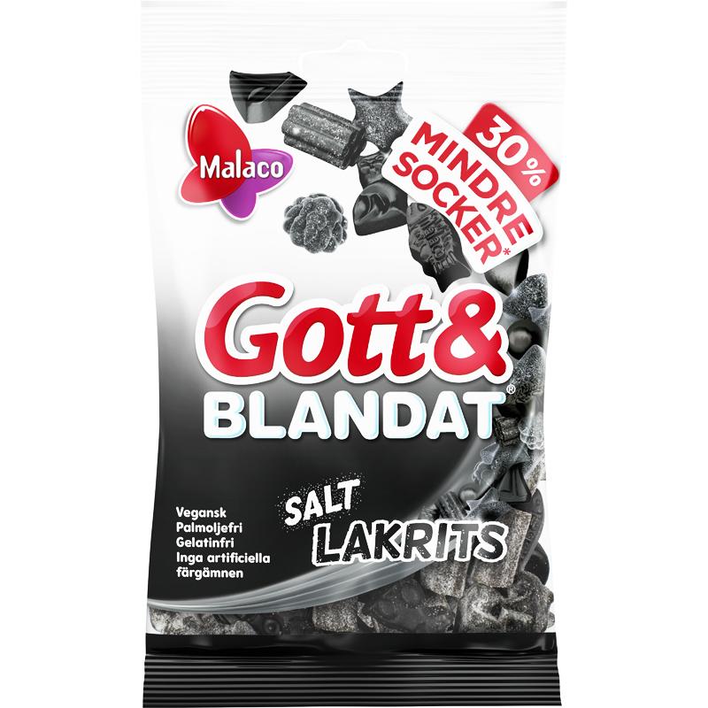 Gott & Blandat Salt lakris - 29% rabatt