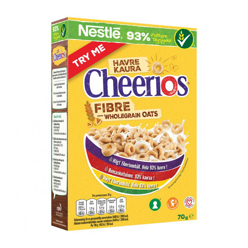 "Flingor ""Cheerios"" 70g - 24% rabatt"
