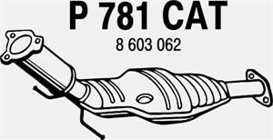 Katalysaattori, VOLVO S60 I, S80 I, V70 II, 8603062, 8642987, 8670220