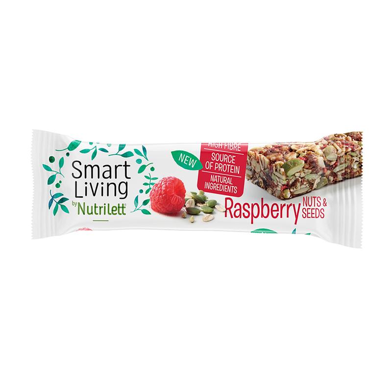 Energiapatukka Raspberry & Seeds 40g - 40% alennus