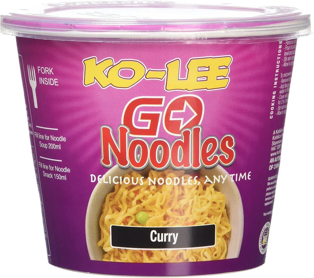 Ko-lee Cup Noodle Curry 65g