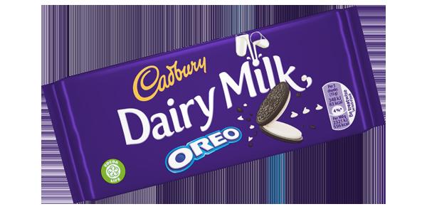 Cadbury Dairy Milk with Oreo 120g