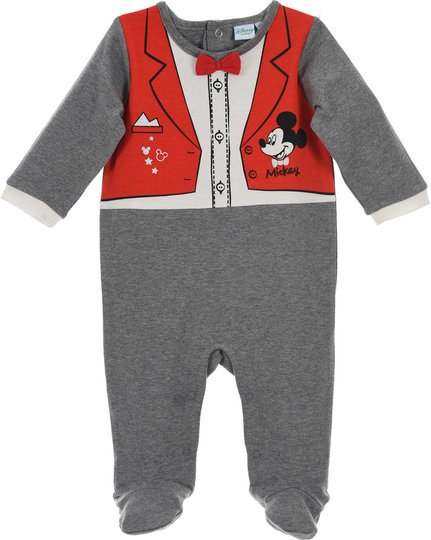 Disney Mikke Mus Pyjamas, Dark Grey 0mån