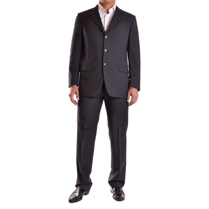 Burberry Men's Suit Black 164020 - black 48