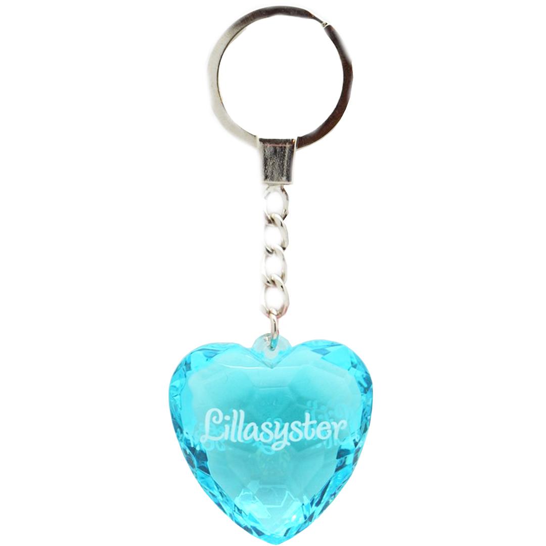 Diamond keyring - Lillasyster