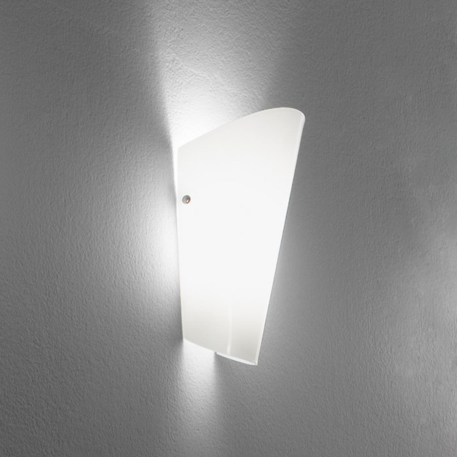 Miellyttävä Bloom-seinävalaisin, valkoinen