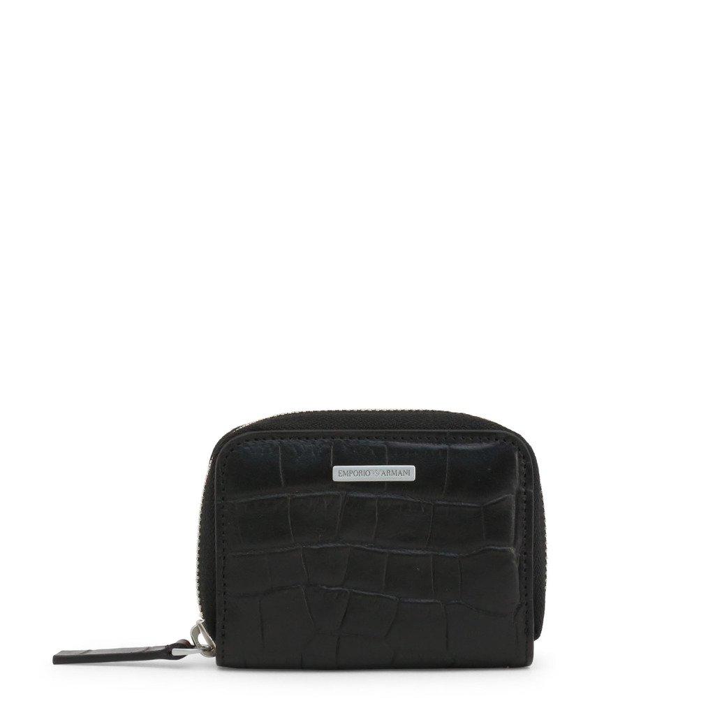 Emporio Armani Men's Wallet Black Y4R184 YDE7E - black NOSIZE