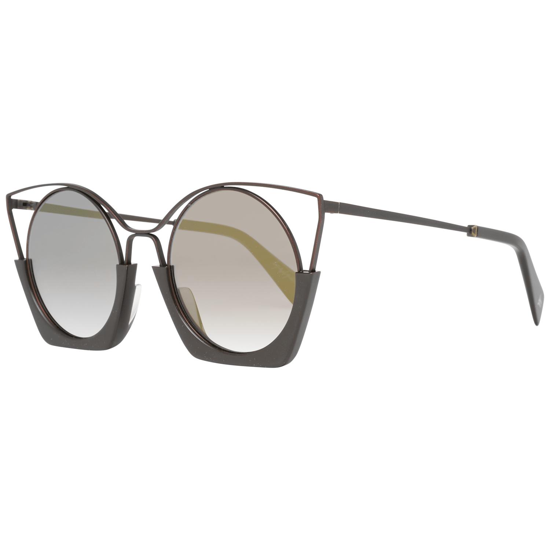 Yohji Yamamoto Women's Sunglasses Brown YY7016 51115