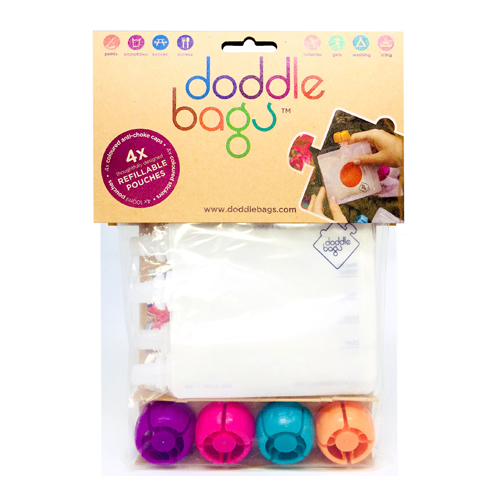 doddle - doddlebags 4 pcs