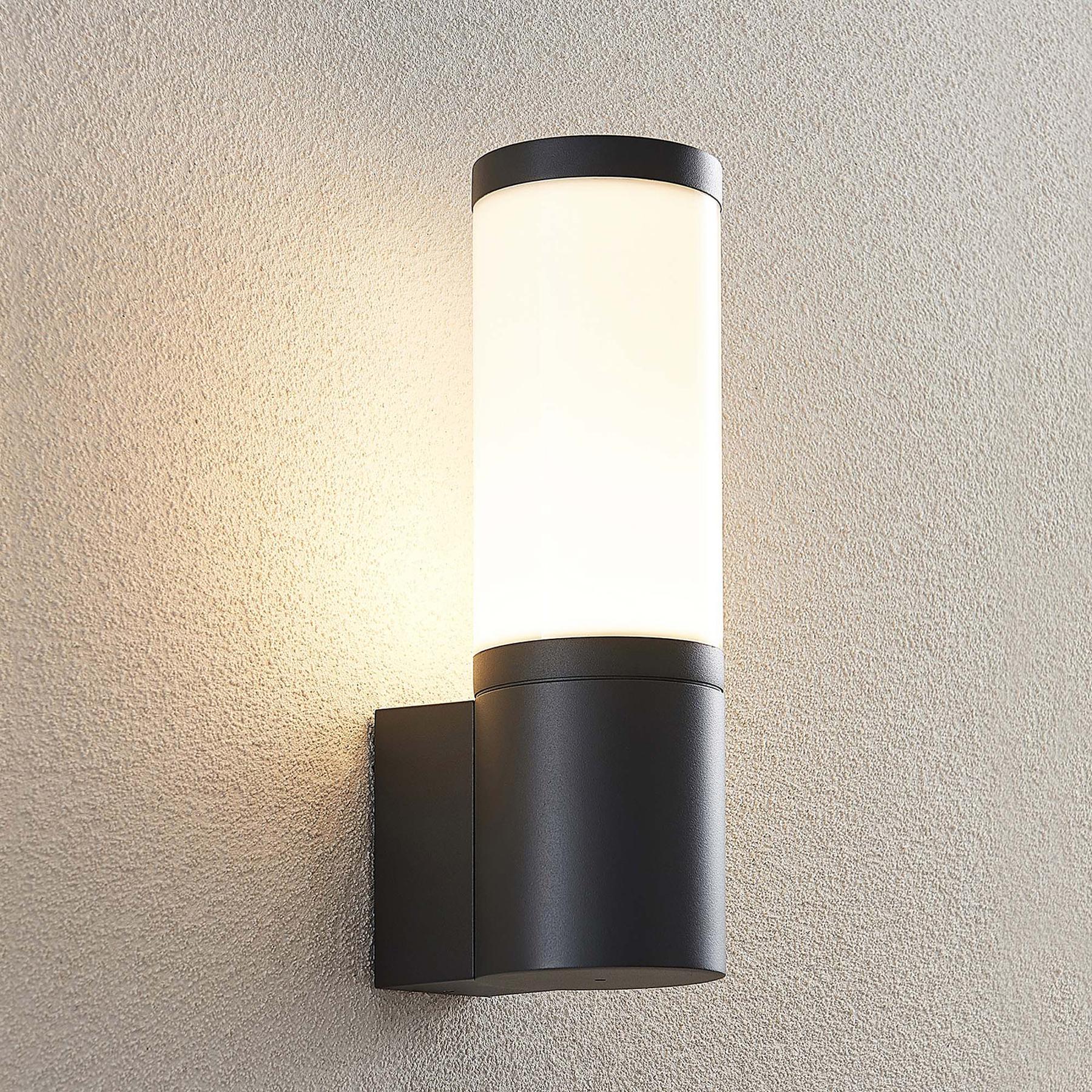 Lucande Rhijana -LED-ulkoseinälamppu, IP54