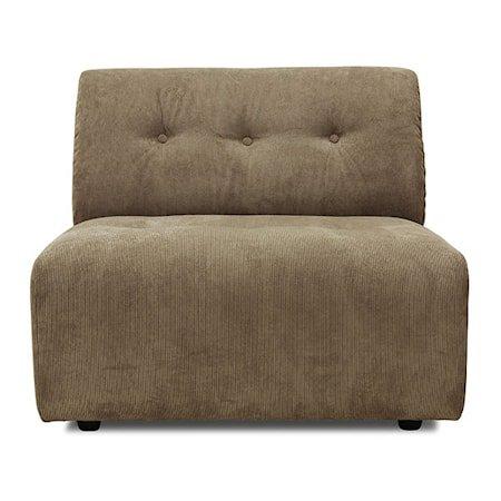 Vint Sofa Element Modul B Brun