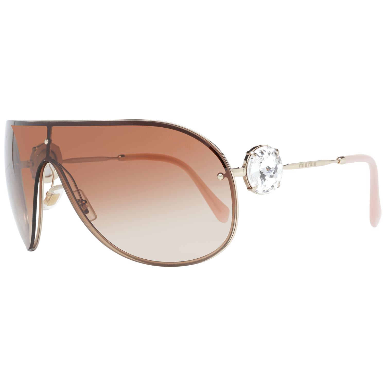 Miu Miu Women's Sunglasses Gold MU67US 37ZVN1Z1