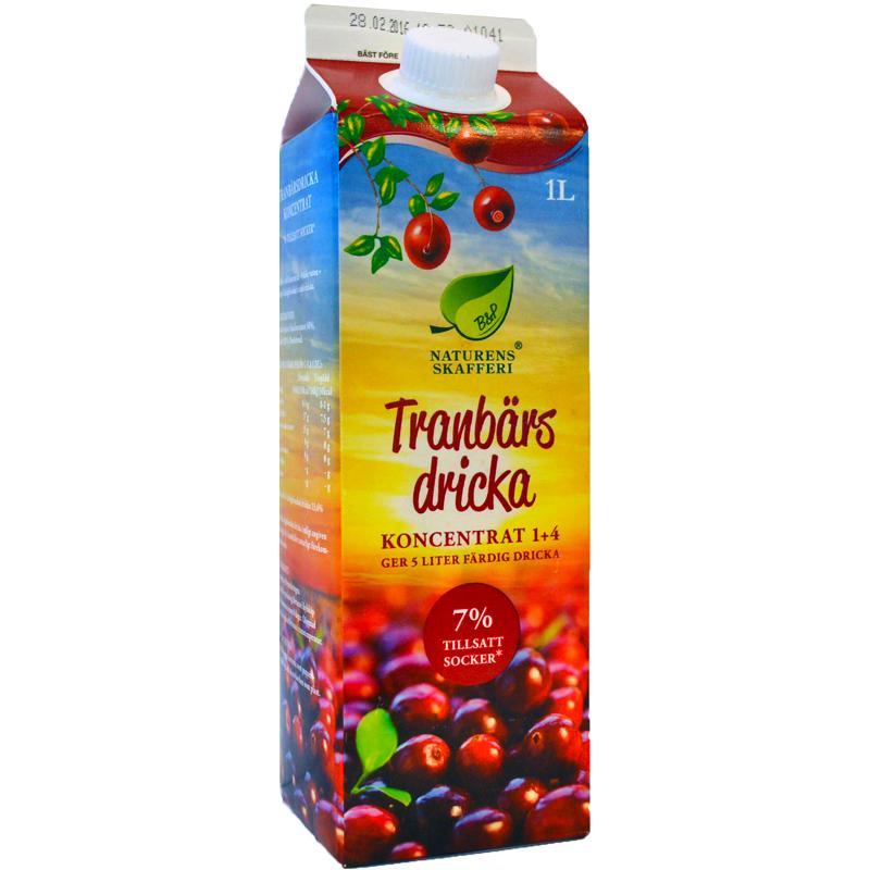 Tranbärsdricka Koncentrat - 67% rabatt