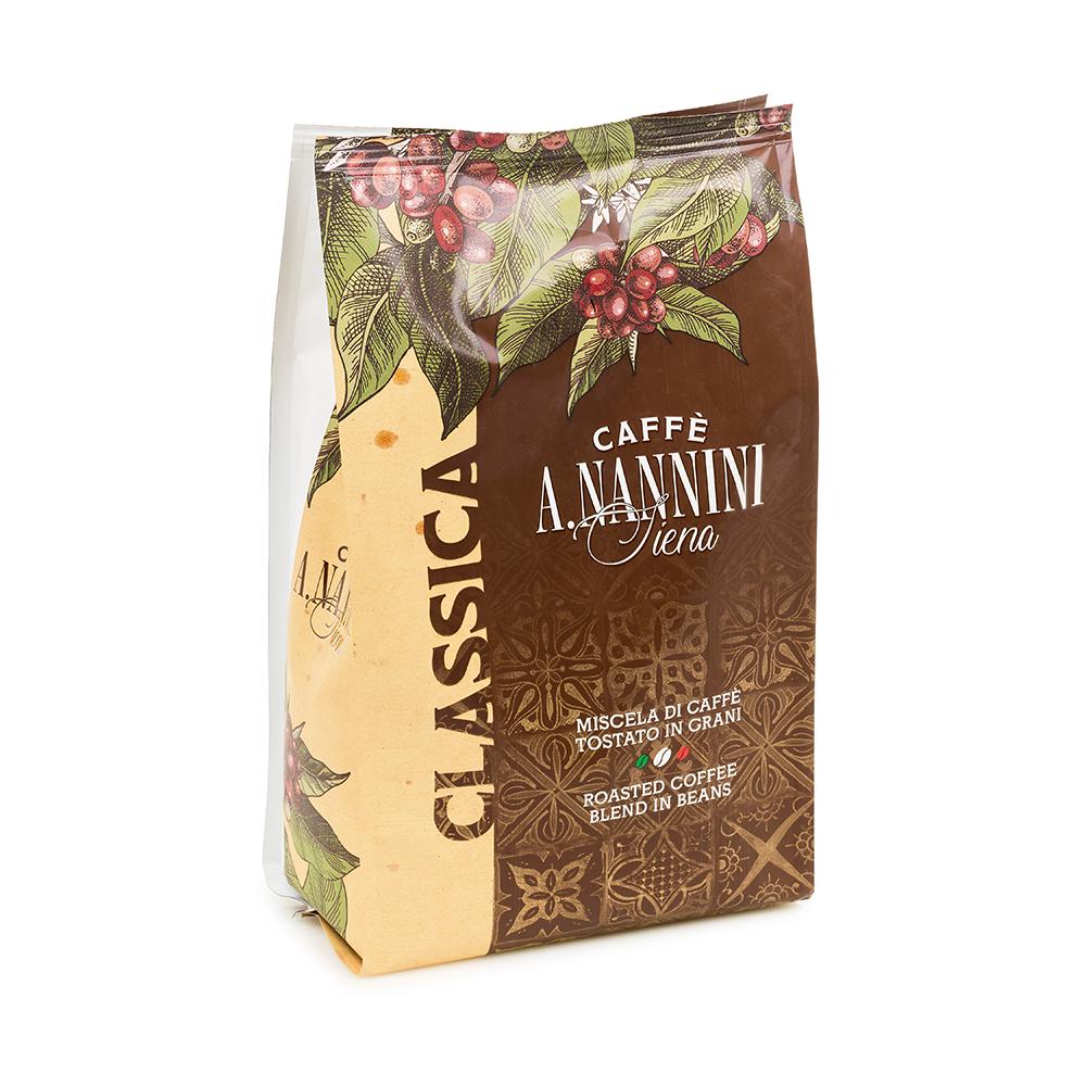 Classica Tradizione Coffee Beans 500g by Nannini