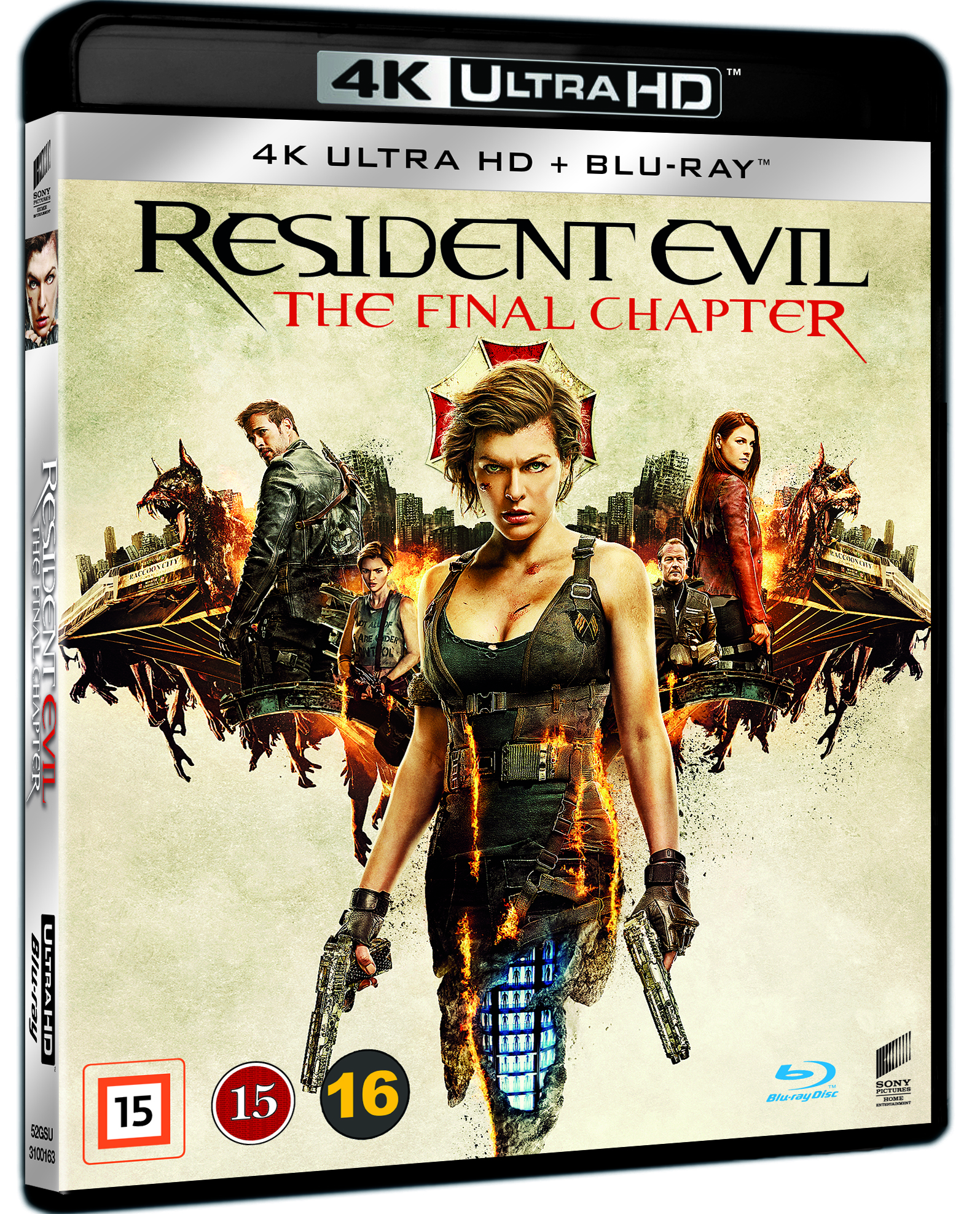 Resident Evil: The Final Chapter (4K Blu-Ray)