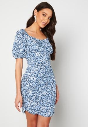 ONLY Fuchsia S/S Short Dress Vintage Indigo VF XS