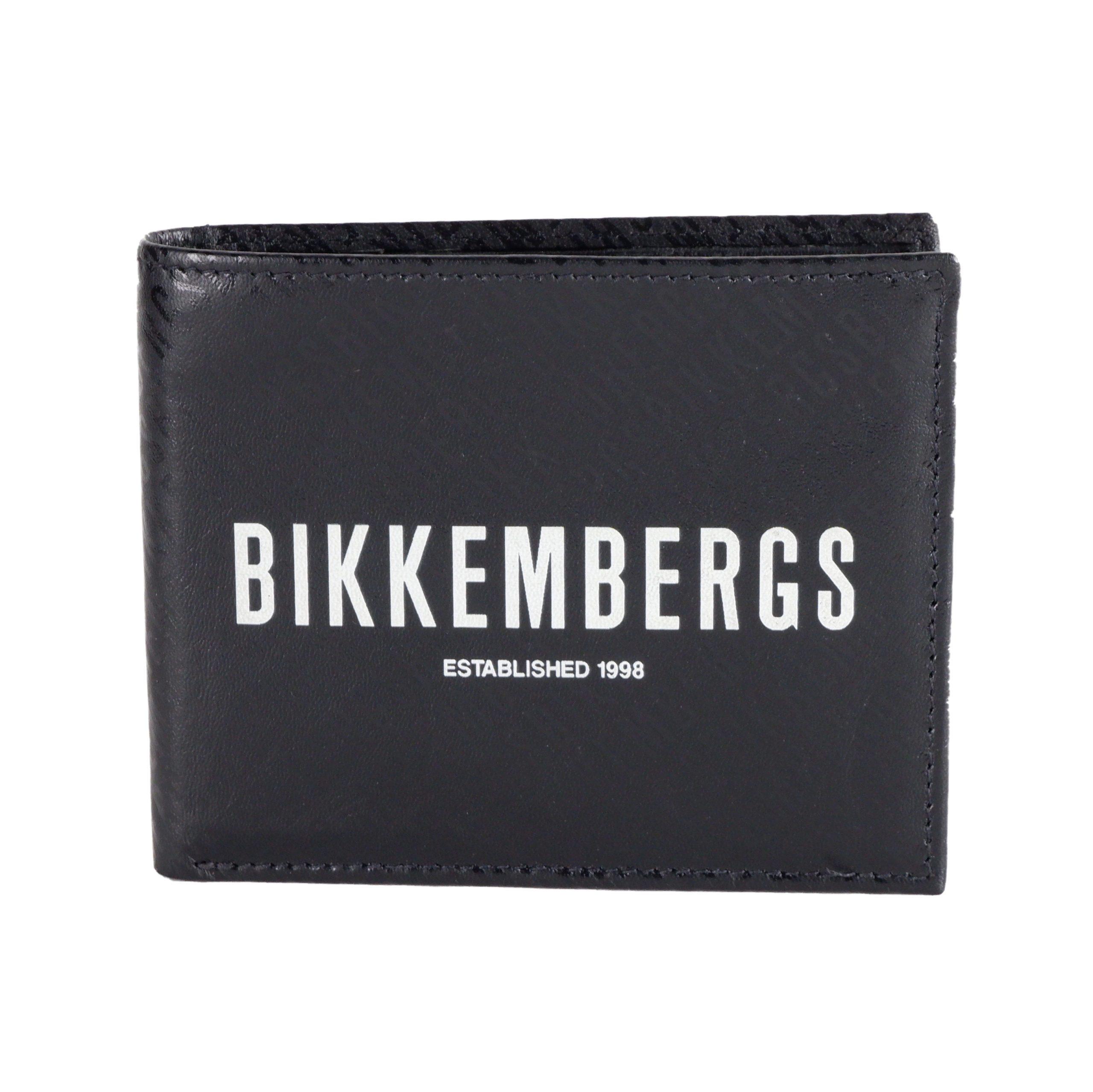 Bikkembergs Men's Wallet Black e1j.304-b01