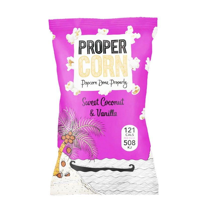 "Popcorn ""Coconut & Vanilla"" 25g - 81% alennus"