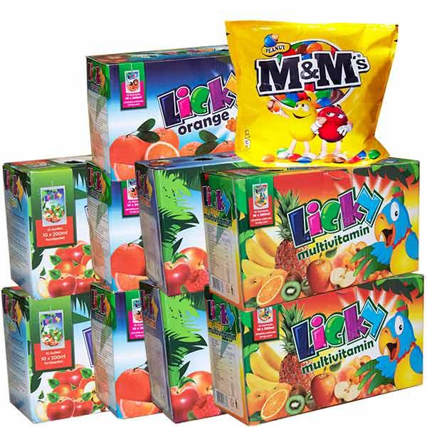 Mellanmålsboxen - Licky + MM Peanut