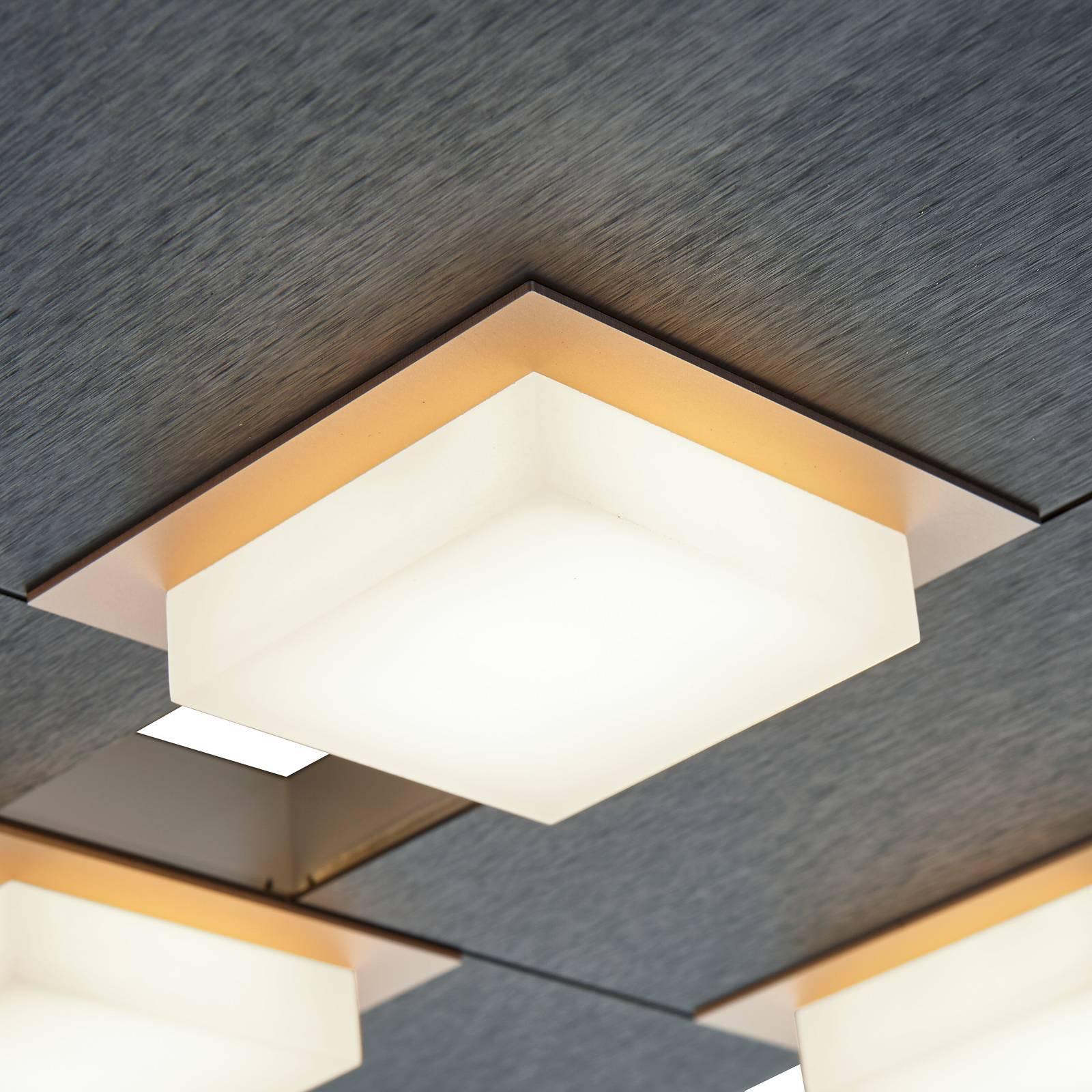 BANKAMP Quadro LED-taklampe 32 W antrasitt