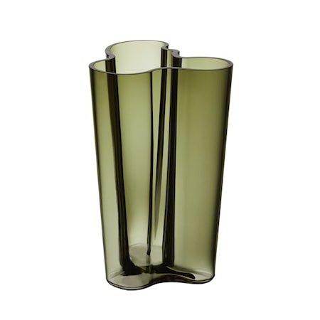 Aalto Vase 25 cm Mosegrønn