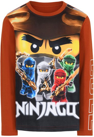 LEGO Collection T-shirt, Caramel Brown, 110