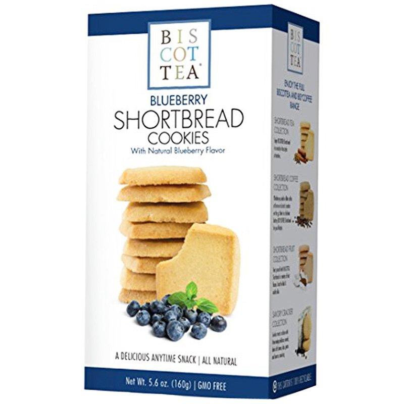 """Brödkakor """"Shortbread Blueberry"""" 160g - 45% rabatt"""