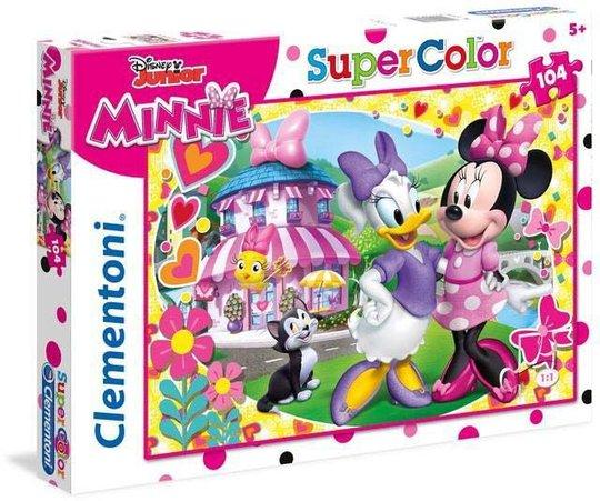 Disney Minni Mus Puslespill 104 Brikker