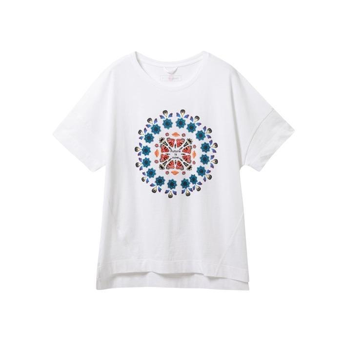 Desigual Women's T-Shirt White 188189 - white M