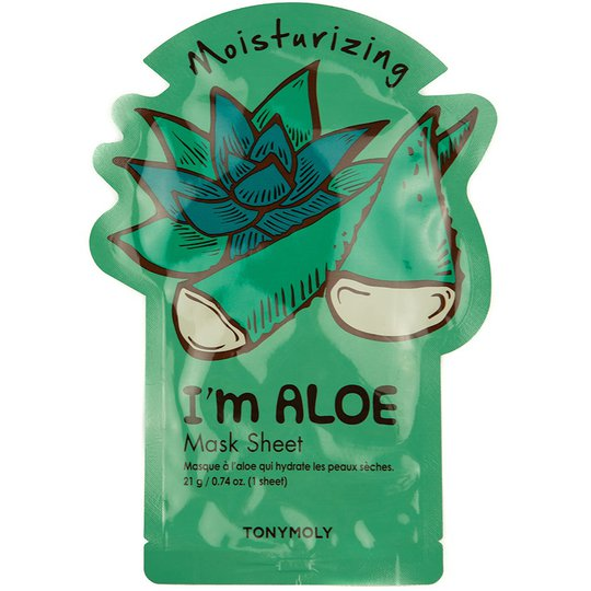 I Am Aloe Mask Sheet, Tonymoly Kasvonaamio