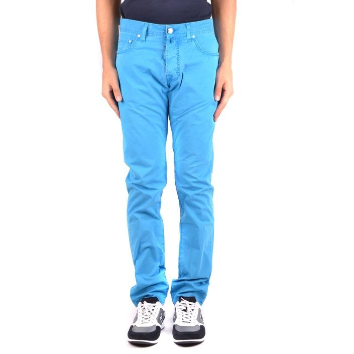 Jacob Cohen Men's Trouser Blue 163598 - blue 33