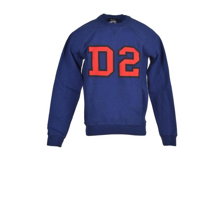 Dsquared - Dsquared Men Sweatshirts - blue M