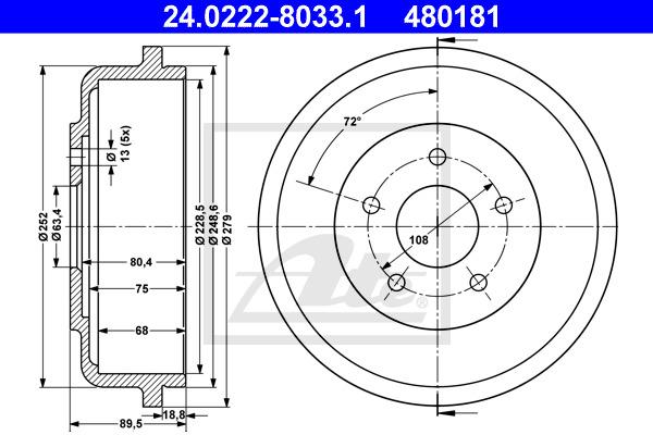 Jarrurumpu ATE 24.0222-8033.1