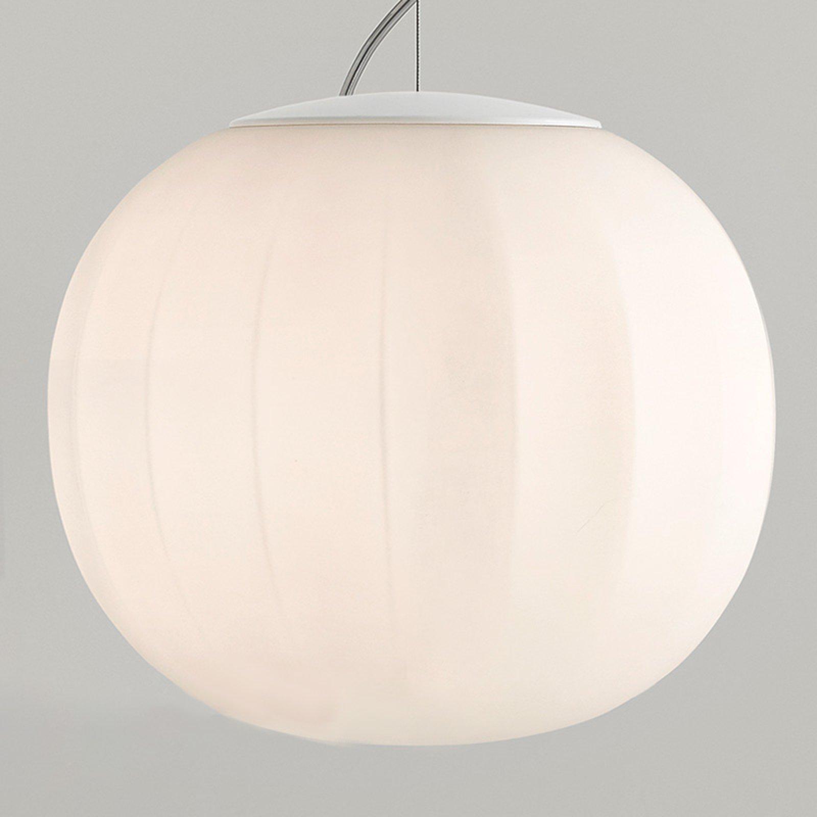 Luceplan Lita pendellampe oppheng hvit Ø 30 cm