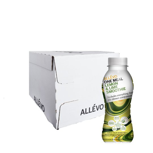 """Laatikollinen Smoothieita """"Lemon & Lime"""" 12x330ml - 58% alennus"""