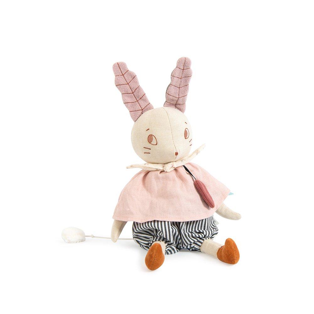 Moulin Roty - Rabbit with music - Après la pluie (715041)
