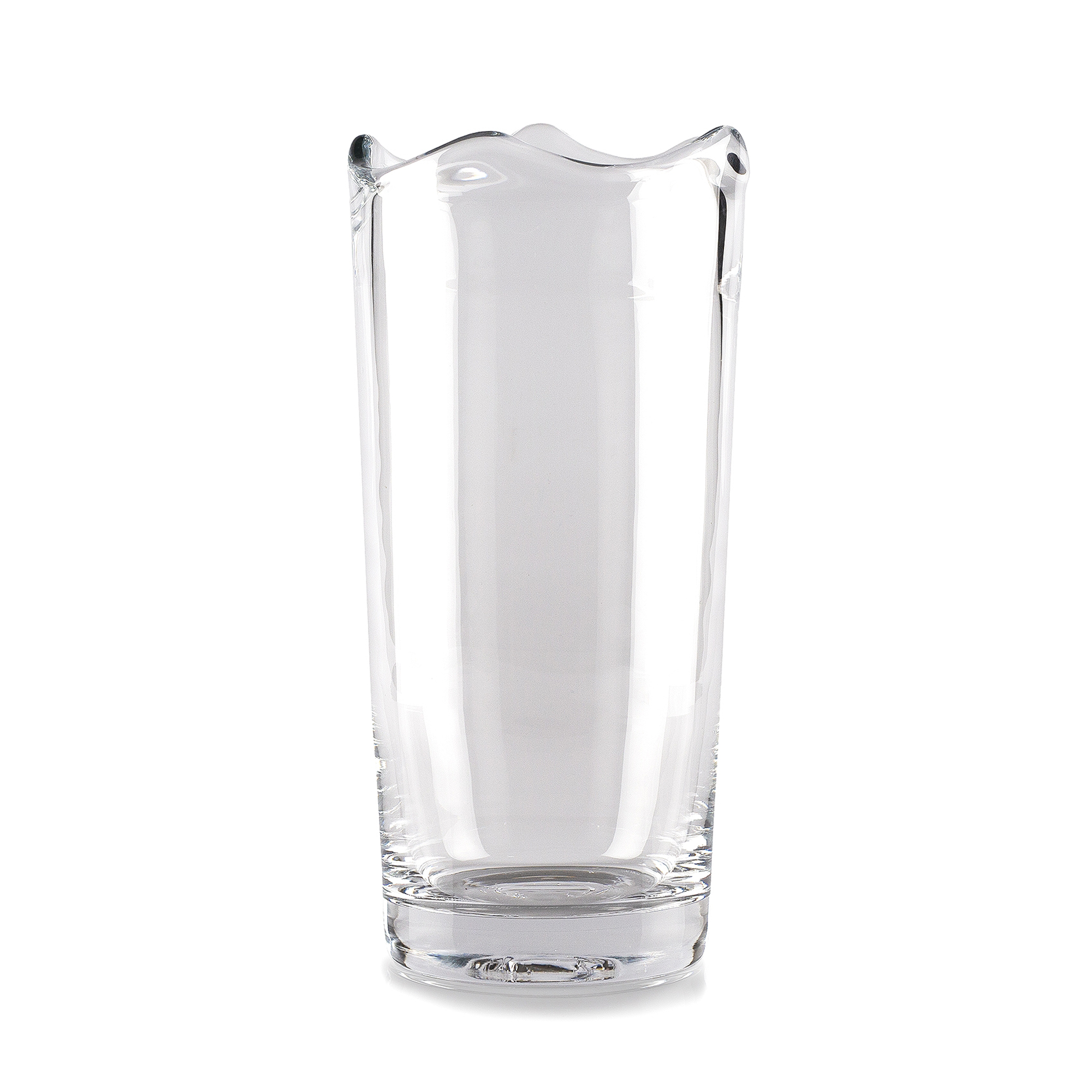 Vas Våg stor klarglas