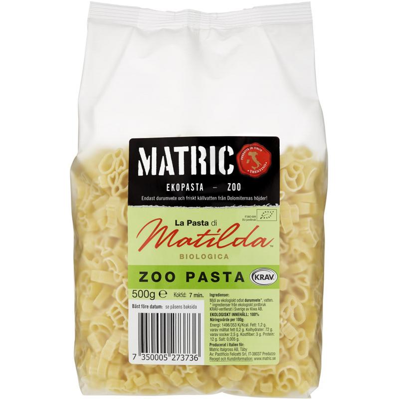 "Pasta ""Zoo"" 500g - 21% rabatt"