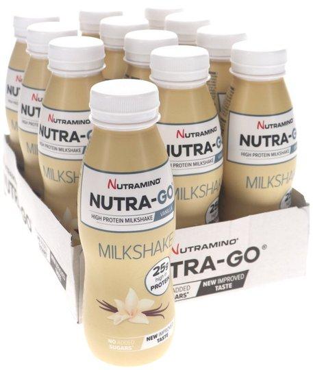 Nutra-Go Milkshake Vanilj 12-pack - 44% rabatt